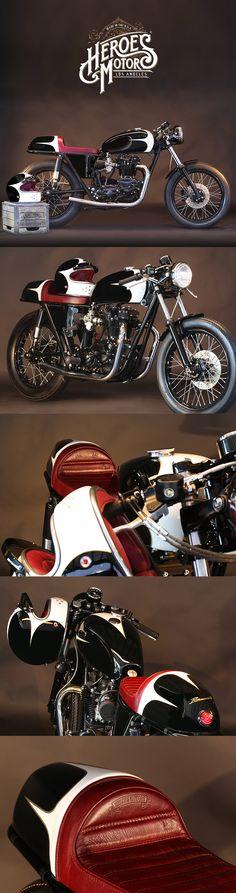 1974 TRIUMPH BONNEVILLE 750cc T140 #forsale #heroesmotors #caferacer #vintagemotorcycles #triumph #harleydavidson #losangeles #california #norton #vincent #indian #classicmotorcycles #ateliersbueno #photosergebueno