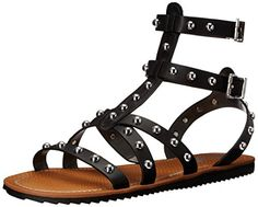 Circus by Sam Edelman Womens Shane Gladiator Sandal Black 75 M US * You can get additional details at the image link.