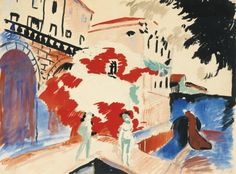 dappledwithshadow:  André Derain, Collioure, at the corner of...