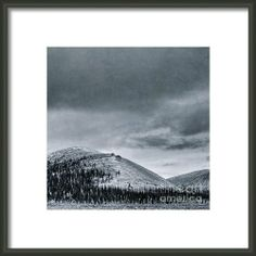 Land Shapes 10 Framed Print By Priska WettsteinWettsteinThis series is work in progress, I want to show the serenity, the unforgivness, the beauty of this landscape, where humans are only tolerated, not accepted.