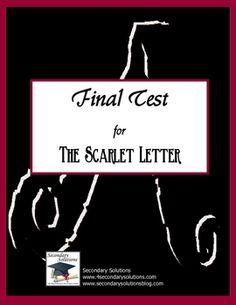 Scarlet Letter Final Test
