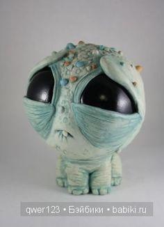 Причудливые монстрики из полимерной глины от художника Chris Ryniak (США) продолжение. / Интересненькое / Бэйбики. Куклы фото. Одежда для кукол