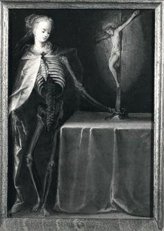 Vanitas, sec. XVI. Federico Zeri Foundation, Public Domain