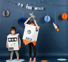 Fiesta de cumpleaños infantil: Tematica espacial
