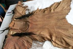 Painted Scalp Lock Shirt in the British Museum Collection | Blackfoot Digital Library