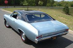 1968 L79 Chevelle 300 Coupe- Two Tone Paint. Chevy built 4,082 L79 Chevelles in 1968.