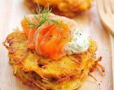 Onion & potato pancakes