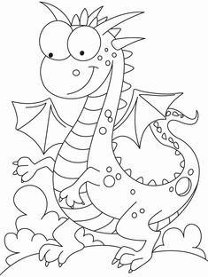 Comparatively a kind looking dragon coloring pages Make your world more colorful with free printable coloring pages from italks. Our free coloring pages for adults and kids. Free Printable Coloring Pages, Coloring Book Pages, Coloring Sheets, Free Coloring, Coloring Pages For Kids, Lilo E Stitch, Dragon Coloring Page, Digi Stamps, Dragons