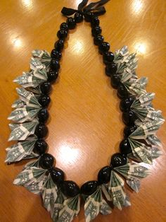 2.00 KuKui Nut Money Lei by PCbyMarilyn on Etsy