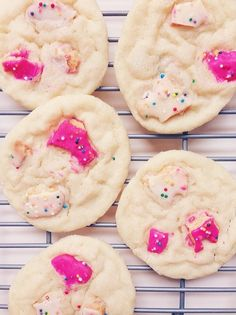 Circus Animal Sugar Cookies