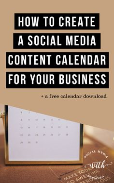 How to create a social media content calendar for your business. The step by step guide to ditching overwhelm and getting organized. >>> Check out the image by visiting the link. Business Marketing, Internet Marketing, Online Marketing, Social Media Marketing, Online Business, Business School, Content Marketing, Marketing Strategies, Marketing Ideas