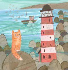 Kay Widdowson - Light House Cat