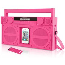 Portable FM Stereo Boombox for iPhone/iPod by iHome