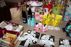 lots of gift ideas for a favorite things party