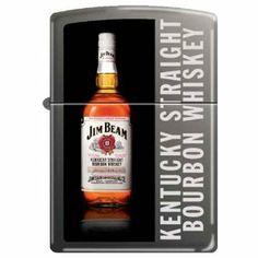 Zippo Jim Beam Bottle Custom Black Ice Lighter by Zippo. $42.70. Jim Beam. Black Ice finish.
