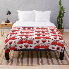 """Mehr als die Liebe"" Tagesdecke von Herogoal | Redbubble Comforters, Blanket, Bed, Shop, Love, Creature Comforts, Quilts, Stream Bed, Blankets"