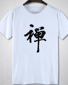 ba556152 Chan chinese character t shirts for teens plus size clothing Peach Flowers,  Chinese Style,