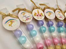 Unicorn Birthday Gum Ball Party Favors
