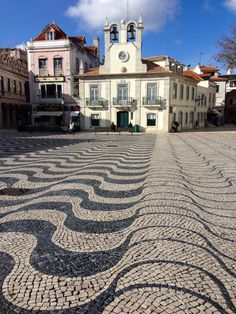 Lisbon, Portugal: Top 10 Things to Do - by Michaela S Guzy 05.05.2014 | The pattered Portuguese paving stones in the coastal town of Cascais