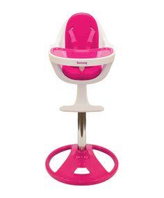 Ryze Pedestal High Chair   Candy Pink