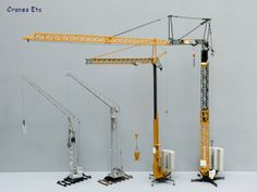 Enjoy this Cranes, Etc Review of NZG's 870 Liebherr 81K Fast-Erecting Crane. Check it out on our site at 3000toys.com