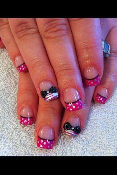 #bows #nail art