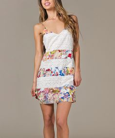 Look at this #zulilyfind! Red Floral V-Neck Dress by Jealous Tomato #zulilyfinds