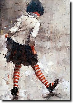 """""""Dancing in the Rain"""" by Andre Kohn, Russian-born Artist now living in USA ...."""
