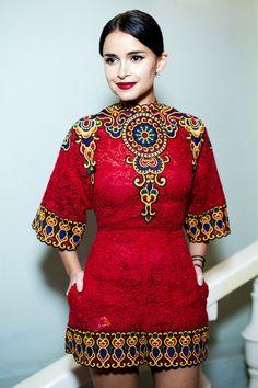 Miroslava Duma at Glamour magazine event l November, 2013