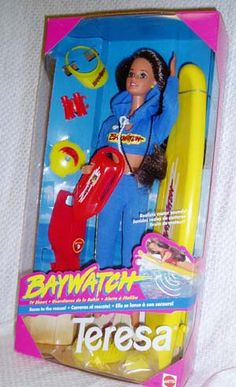Baywatch Teresa. I was so proud of my brown haired 'Barbie doll'!