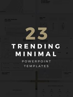 23 free and premium minimal powerpoint templates are trending and can completely help your business presentation.The use of these incredible, simple yet creative powerpoint templates will provide you with all the tools that you need to present your data or persuade your viewers to consider your proposition. So, no matter which one out of all the 23 you pick, I can assure you will make you auspicious presentation. via @louistwelve