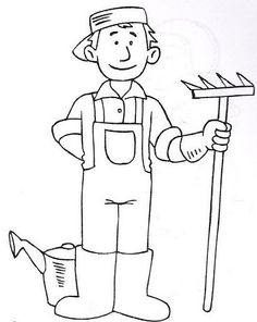 15 Best Occupation Coloring Sheets Images Coloring Pages