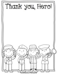 Download free Veteran's Day writing printables at A Cupcake for the Teacher. Find more free printables here!