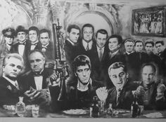 gangsters as last supper - Google Search