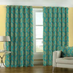 Curtain Styles With Yellow Walls Shape Of Curtains On The Rod Room Decor