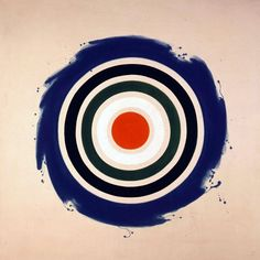 Whirl by Kenneth Noland 1977 Frank Stella, Art Beauté, Op Art, Abstract Painters, Abstract Art, 20th Century Painters, Kenneth Noland, Barnett Newman, Piet Mondrian