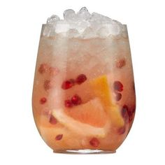 The Crimson Crush (low calorie cocktail). Ingredients  1.5oz Belvedere RED  .5oz St. Germain Elderflower Liqueur  3 bar spoons of pomegranate seeds  4 chunks pink grapefruit    Directions: Muddle pomegranate seeds and grapefruit with elderflower liqueur. Add Belvedere and top with crushed ice. Churn.