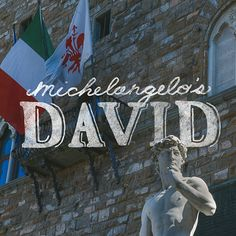 A hand lettering and photography project documenting my travels throughout Italy and highlighting my favorite cities and sights along the way! Adventure Italy | Michelangelo's David | Kristen Marks #handlettering #travel #adventure #italy #typography