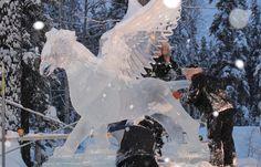 World Ice Art Championships, Fairbanks, Alaska