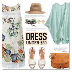 """Dress Under $50"" by mada-malureanu ❤ liked on Polyvore featuring Calypso St. Barth, rag & bone, Dressunder50 and lovenewchic"