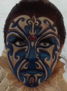 Face Painting Adult Art | BodyFX