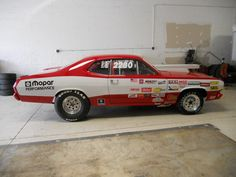 Plymouth : Duster Duster 71 Duster race car - http://www.legendaryfinds.com/plymouth-duster-duster-71-duster-race-car/