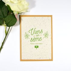 """Card to plant quote """"Come sow of love and fresh wa - St Valentin Fleurs Homemade Valentines, Valentine Day Gifts, Cadeau St Valentin, Petunia, Plants Quotes, Air Balloon Rides, Flower Seeds, Love Cards, Antirrhinum"""