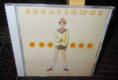 VISION OF ESCAFLOWNE: OVER THE SKY MUSIC CD, 16 GREAT TRACKS, GUC