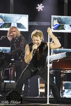 Bon Jovi - ROCK KING.  That's my opinion and I'm sticking to it.  Better than ALL the rest.