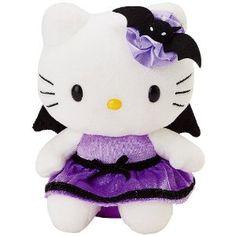 Hello Kitty   Halloween Bat 7 Plush: Toys & Games
