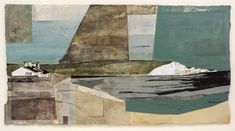 Jeremy Gardiner Solar, Seven Sisters, 2019 Acrylic and jesmonite on poplar panel 80 x 150 cm 93 x cm framed Abstract Images, Abstract Landscape, Landscape Paintings, Abstract Art, Landscapes, Abstract Paintings, Hastings Castle, Belle Tout Lighthouse, Art Reference