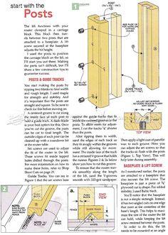 #968 Router Table Lift Plans - Router