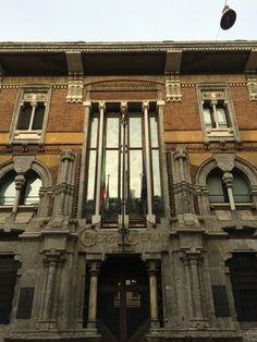 Palazzo Andreani-Mantova Palazzo, Renaissance Architecture, Reggio, Milano, Big Ben, Interior And Exterior, Facade, Art Nouveau, Interiors