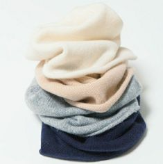 Organic cashmere hats